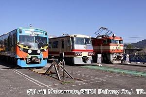 「西武トレインフェスティバル」11/11開催、9000系廃車車両への寄せ書きも