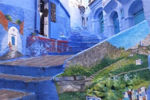 「僕らの町は美しい」シャウエンの青世界で生きる温かい人々と猫--写真85枚