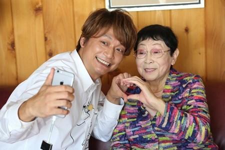 香取慎吾、橋田壽賀子と久々の再会! 92歳のトレーニングに挑戦も「キツ ...