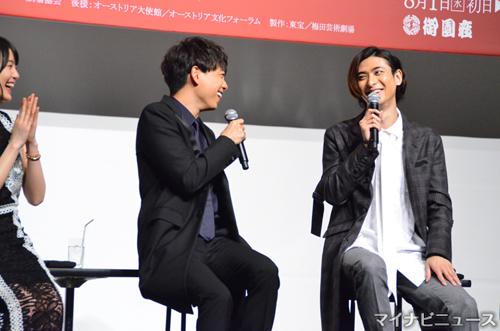 """山崎育三郎&古川雄大、""""オンとオ..."""