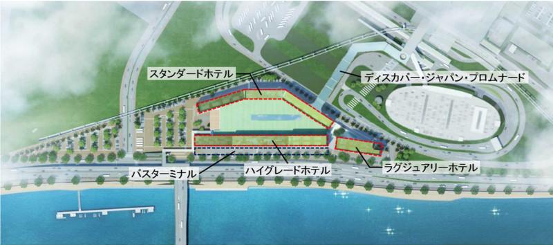 羽田空港跡地第2ゾーンの整備イメージ