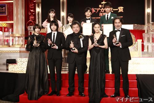 第41回日本アカデミー賞、受賞者...