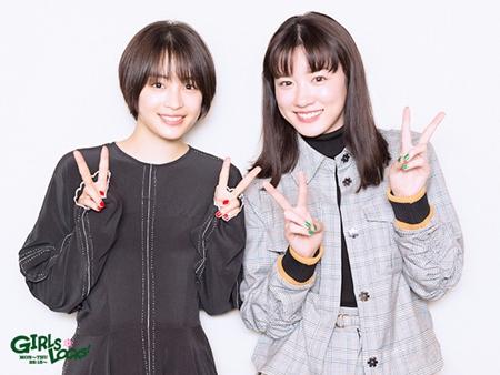 左から広瀬すず、永野芽郁 ,TOKYO FM提供