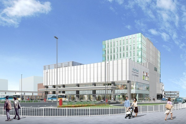 「ジョイナステラス 二俣川」4/27誕生--約90店が出店、駅舎竣工は12月予定