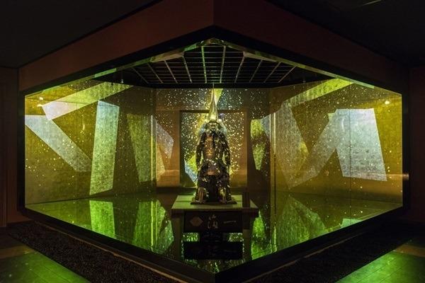 金箔×プロジェクションマッピング! 金沢「箔巧館」が体験型ミュージアムに