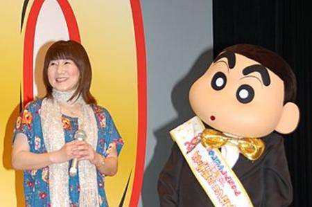 『クレヨンしんちゃん』声優・矢島晶子が降板「声を保ち続ける事」困難に