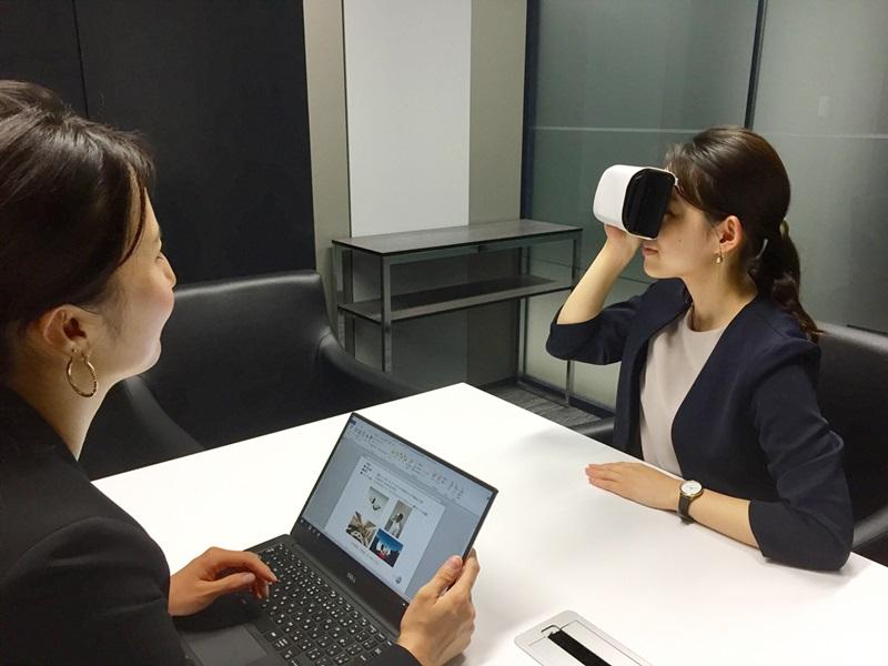 JAL、VRで機内サービス全般を仮想体験--海外法人セールスで実証実験