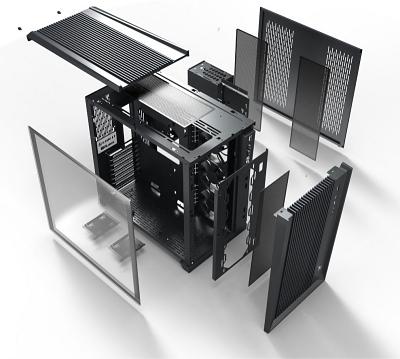 台湾Lian Li製PCケース「O11 AIR」