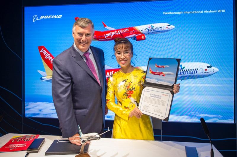 ベトジェットエア、B737MAXを100機追加発注--アジア最大のMAX10の顧客に