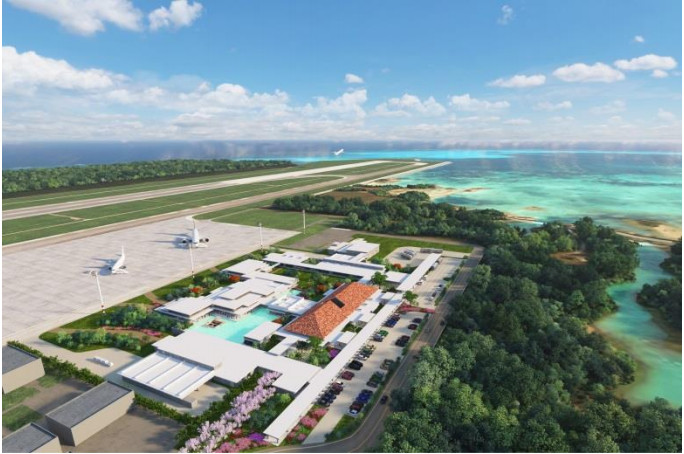 下地島空港ターミナル整備に國場組・双日参画--地域連携し世界と繋がる空港へ