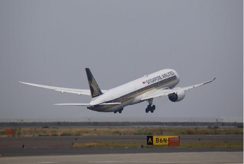 シンガポール航空、ボーイング787-10を中部線に就航--初便は満席