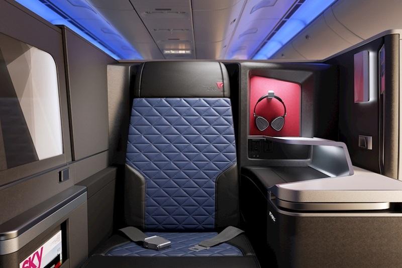 デルタ航空、A350-900と777-200ER改装で日米4路線にも個室型ビジネスクラス