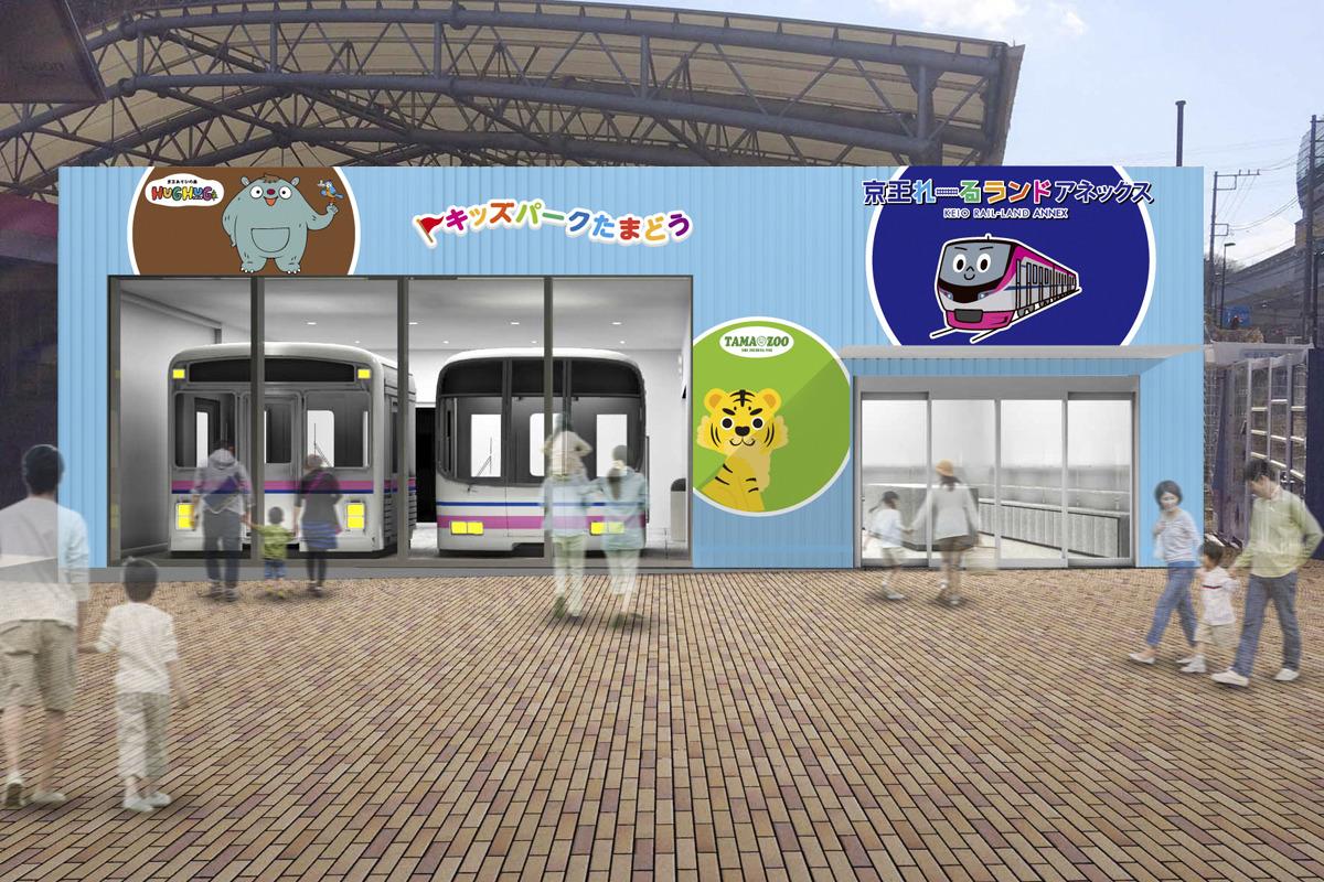 「京王れーるランド」別館オープン、7000・8000系カットモデル展示