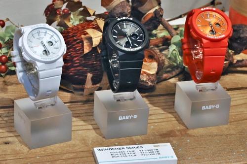 17c26eeec0 カシオ2018年秋冬の時計新製品発表会・「BABY-G」「SHEEN」編 (1) BABY-Gの代名詞となるか? | マイナビニュース
