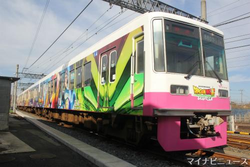 新京成電鉄8800形『ドラゴンボール超 ブロリー』電車 - 写真51枚 ...