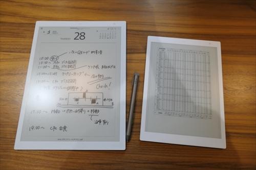富士通 手書きできる薄型軽量のa4 a5サイズ電子ペーパー マイナビニュース