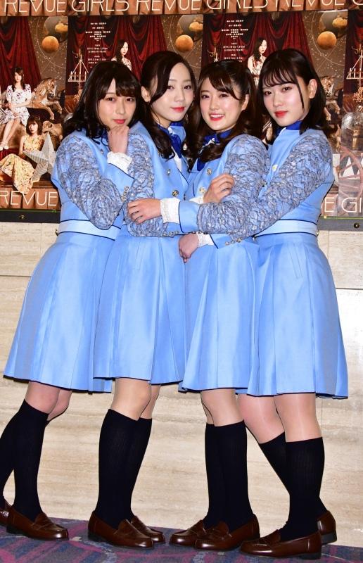 【樋口絢音】GIRLS REVUEの舞台初日、たった400席なのに埋められずw【純奈能條】