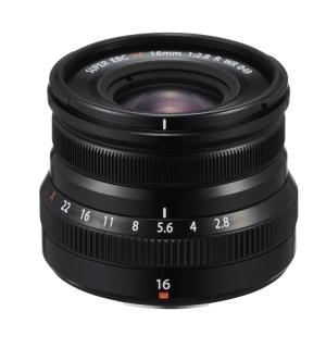XF16mmF2.8 R WR(ブラック)