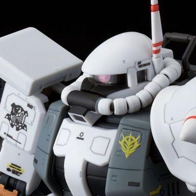 【ガンプラ】『ガンダムMSV』ジオン本国エースが駆る白×黒のエリック・マンスフィールド専用ザクIIがガンプラRGに登場