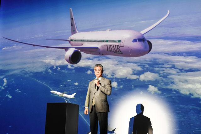 JAL出資のLCC「ZIPAIR」が機体と制服デザイン発表