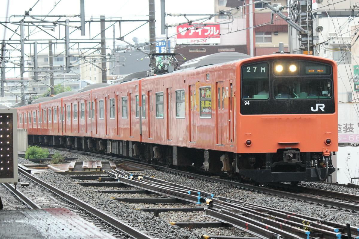 JR西日本、大阪環状線201系ラストラン - 京橋行で無事に運行終える ...
