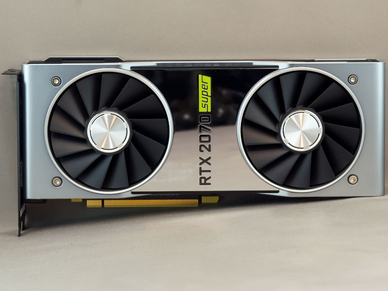 Try the Flash Review GeForce RTX 2060 Super / RTX 2070 Super