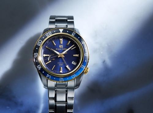 premium selection 3c200 24087 グランドセイコー、ブルー×ゴールドのスポーティーなGMTモデル ...