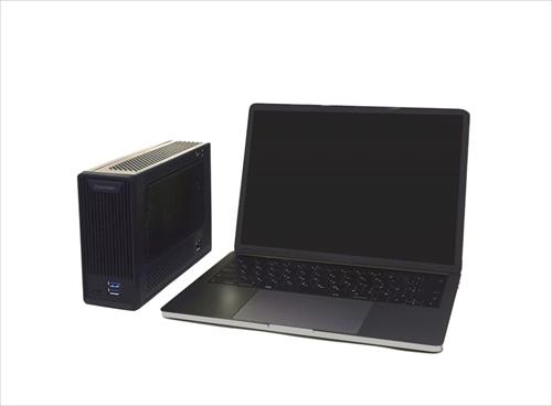 MacにRadeon RX 570を外付けできる拡張ボックス、Thunderbolt 3