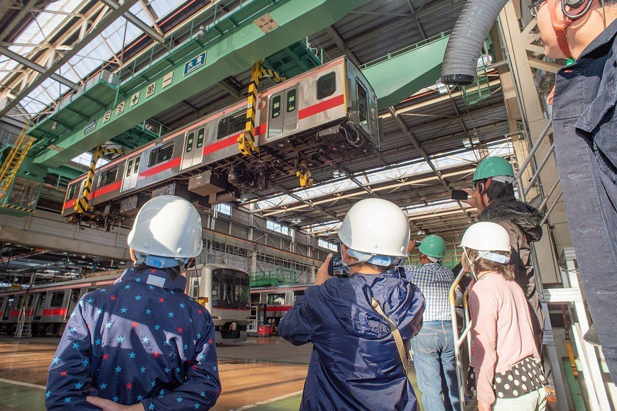 東急の体験イベント「キッズプログラム」車両修理や線路保守体験も