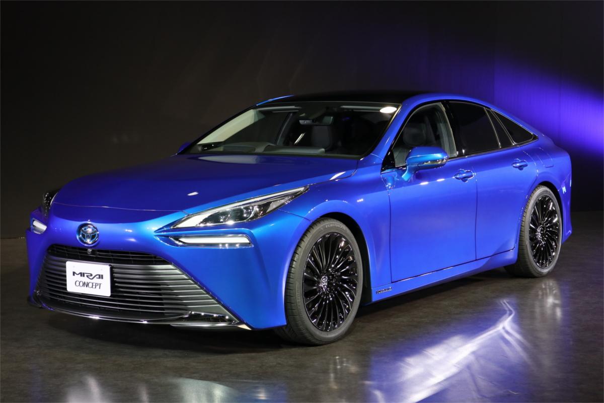 燃料電池自動車「MIRAI」が新型で変身? トヨタがコンセプトモデル公開 | マイナビニュース