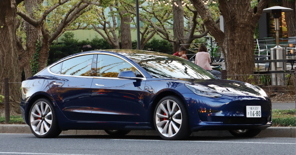 """Photo of Fast! Quiet! Wide! Tesla """"Model 3"""" sells like this"""