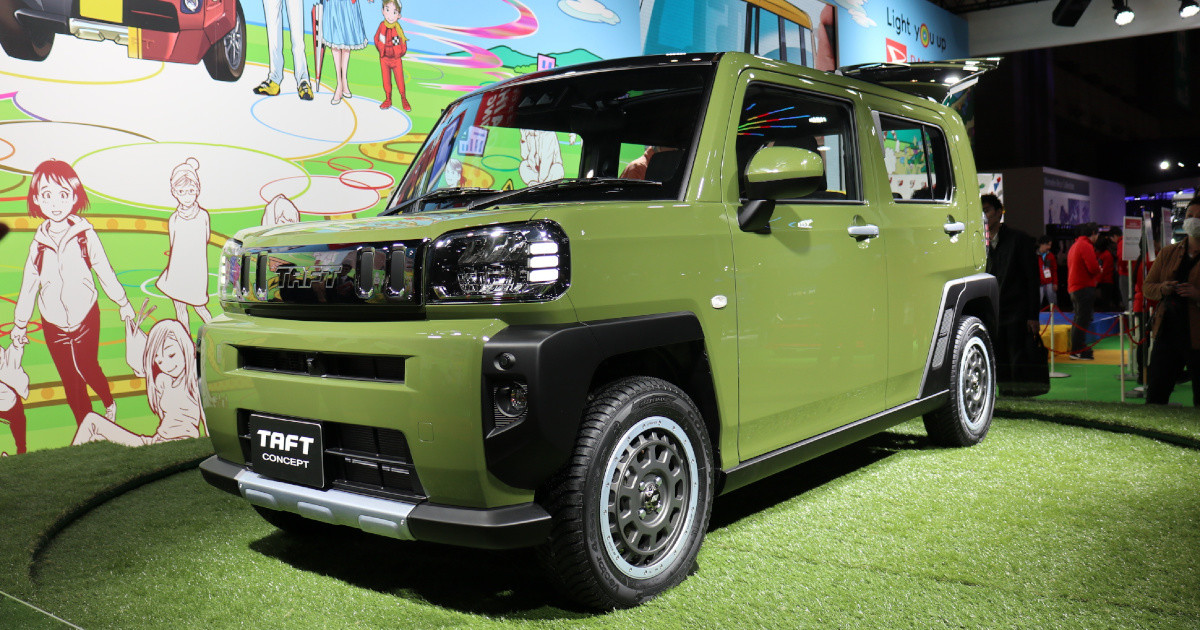 "Photo of Daihatsu unveils ""Taft Concept"" for light SUV! Rival of Jimny?"