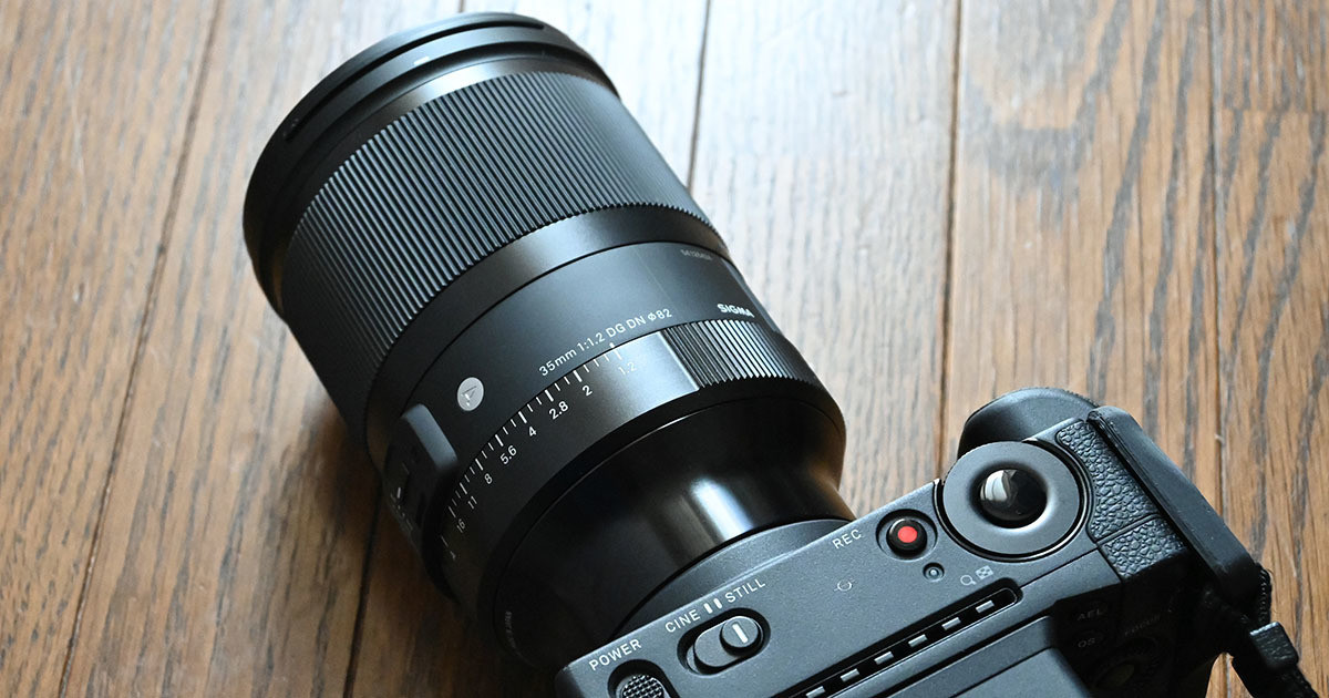 "Photo of Sigma ""35mm F1.2 DG DN"" review The depiction of resolution and blur is a masterpiece"