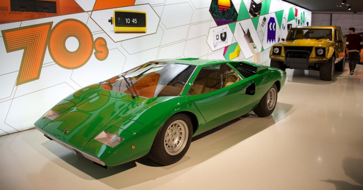 Miura, Diablo, Kuntouch! Visitando el Museo Lamborghini