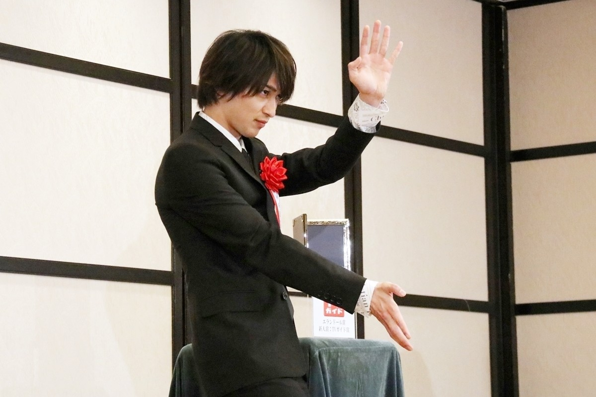 Photo of Yokohama meteor expresses the joy of receiving a prize with karate!