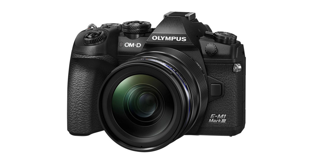 """Photo of Olympus, new mirrorless """"OM-D E-M1 Mark III"""" equipped with """"Starry Sky AF"""""""