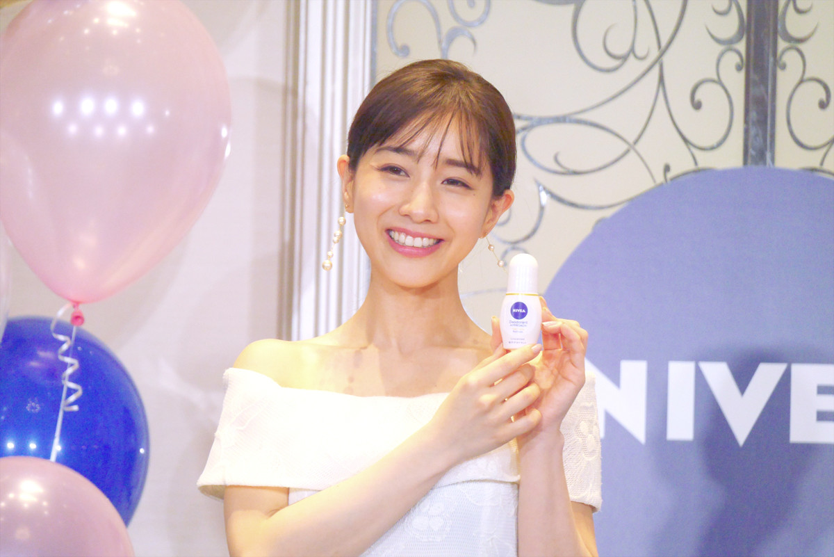 Photo of A beautiful skin deodorant that can be used up to the decollete appears!-Minami Tanaka recommended care