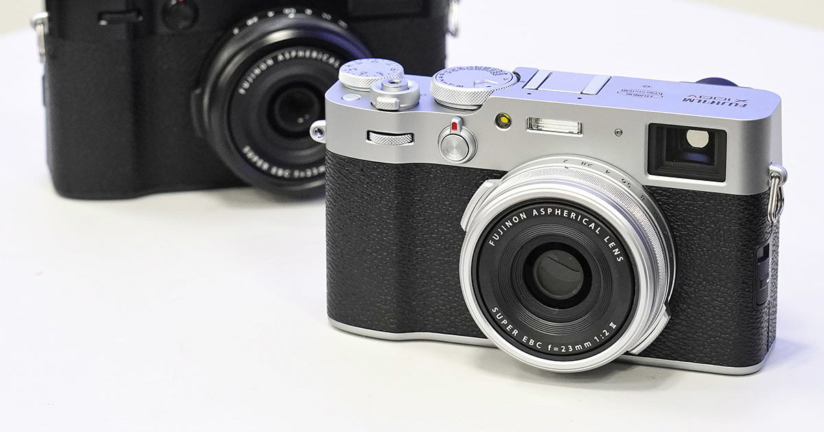 Photo of FUJIFILM X100V Silver Released February 27