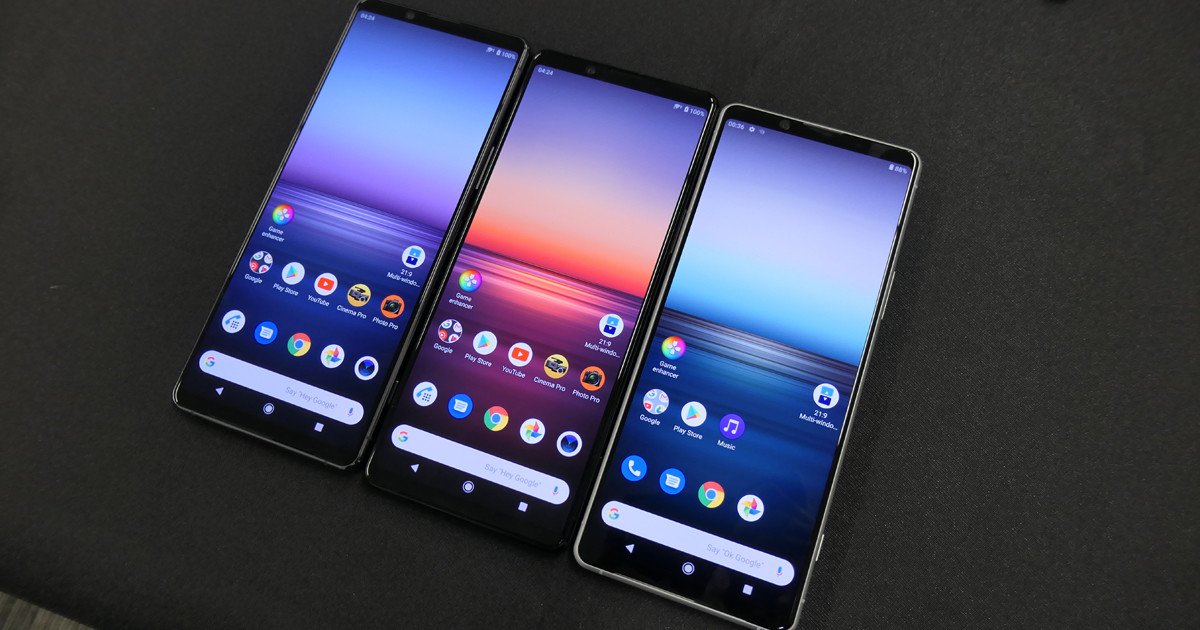 "Photo of Sony, 5G compatible Zeiss lens equipped new flagship ""Xperia 1 II"""