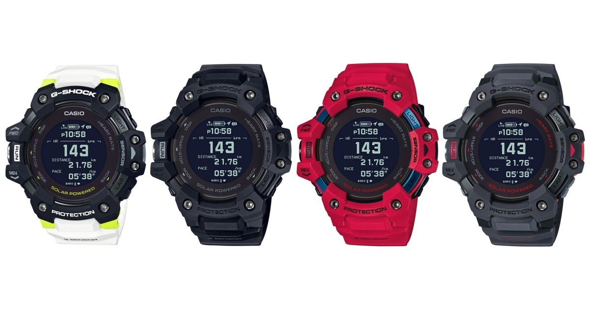 """Photo of """" GBD-H1000 '' which integrates smartphone with new ground, heart rate monitor and GPS built in G-SHOCK"""