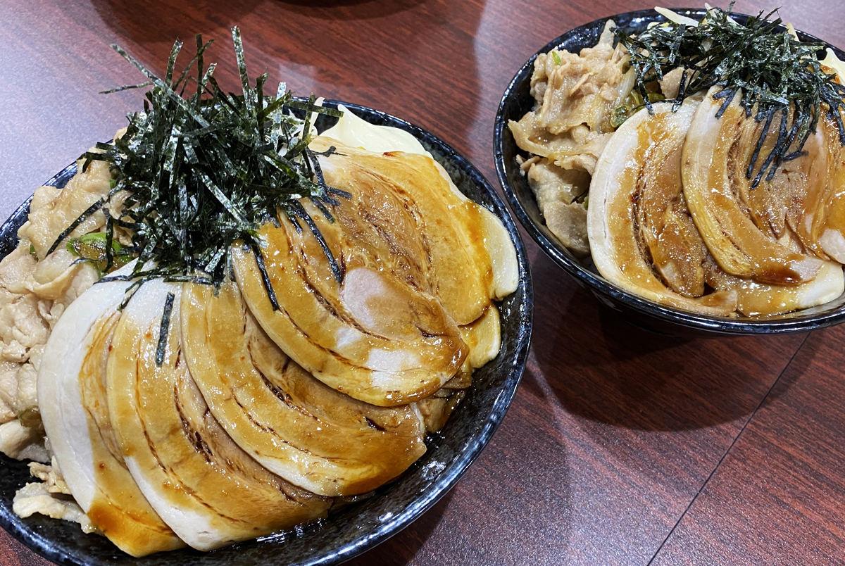丼 チャーシュー
