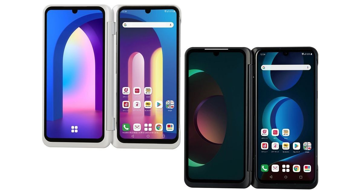 """Photo of 5G smartphone """" LG V60 ThinQ 5G '' that can be used on 2 screens is available directly from DOCOMO"""