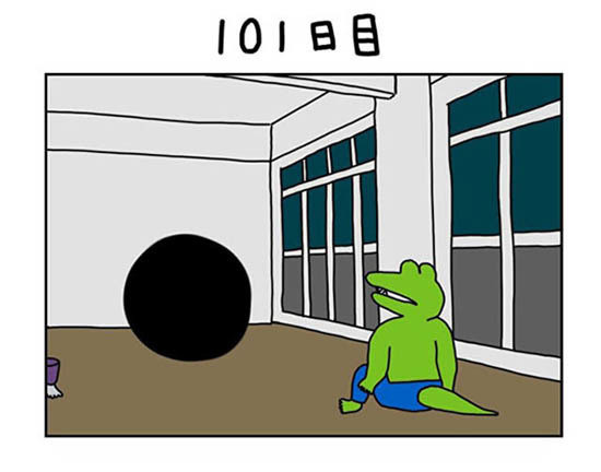 ワニ の 100 日