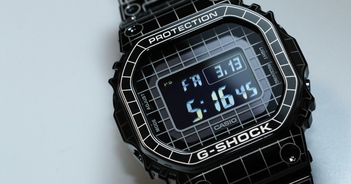 """Photo of G-SHOCK new work with photos-Origin """"GMW-B5000CS"""" that transcends space and time"""