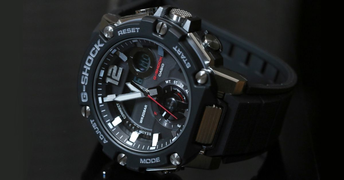 "Photo of G-SHOCK new work with photos-G-SHOCK G-STEEL ""GST-B300"""