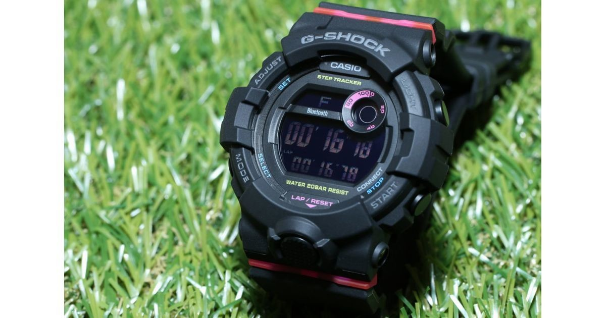 "Photo of G-SHOCK new work with photos-Small "" GMD-B800 '' with pedometer and smartphone cooperation"