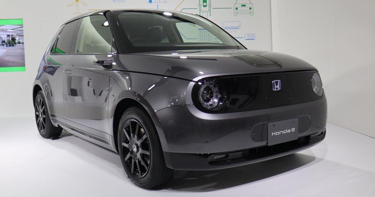 "Photo of Honda EV ""Honda e"" won the highest prize in the ""Red Dot Design Award"""
