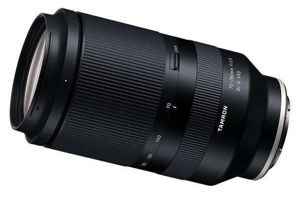 "Photo of Tamron, α telephoto zoom ""70-180mm F / 2.8"" official announcement 150,000 yen"