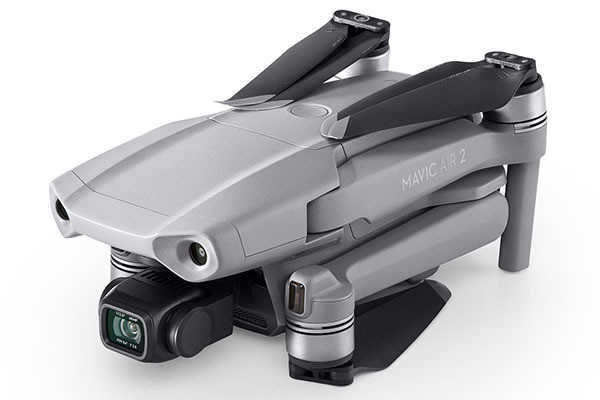 "Photo of Slim drone ""Mavic Air 2"" compatible with 4K / 60p video recording DJI"
