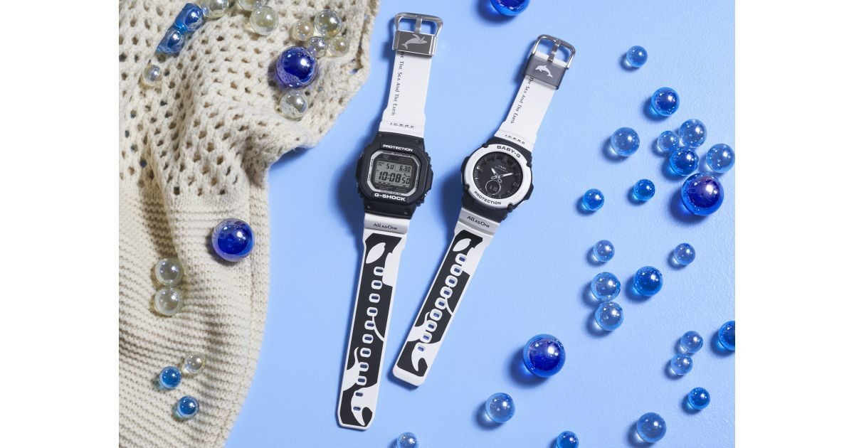 Photo of G-SHOCK BABY-G's 2020 irukuji, theme is Orca family and family love